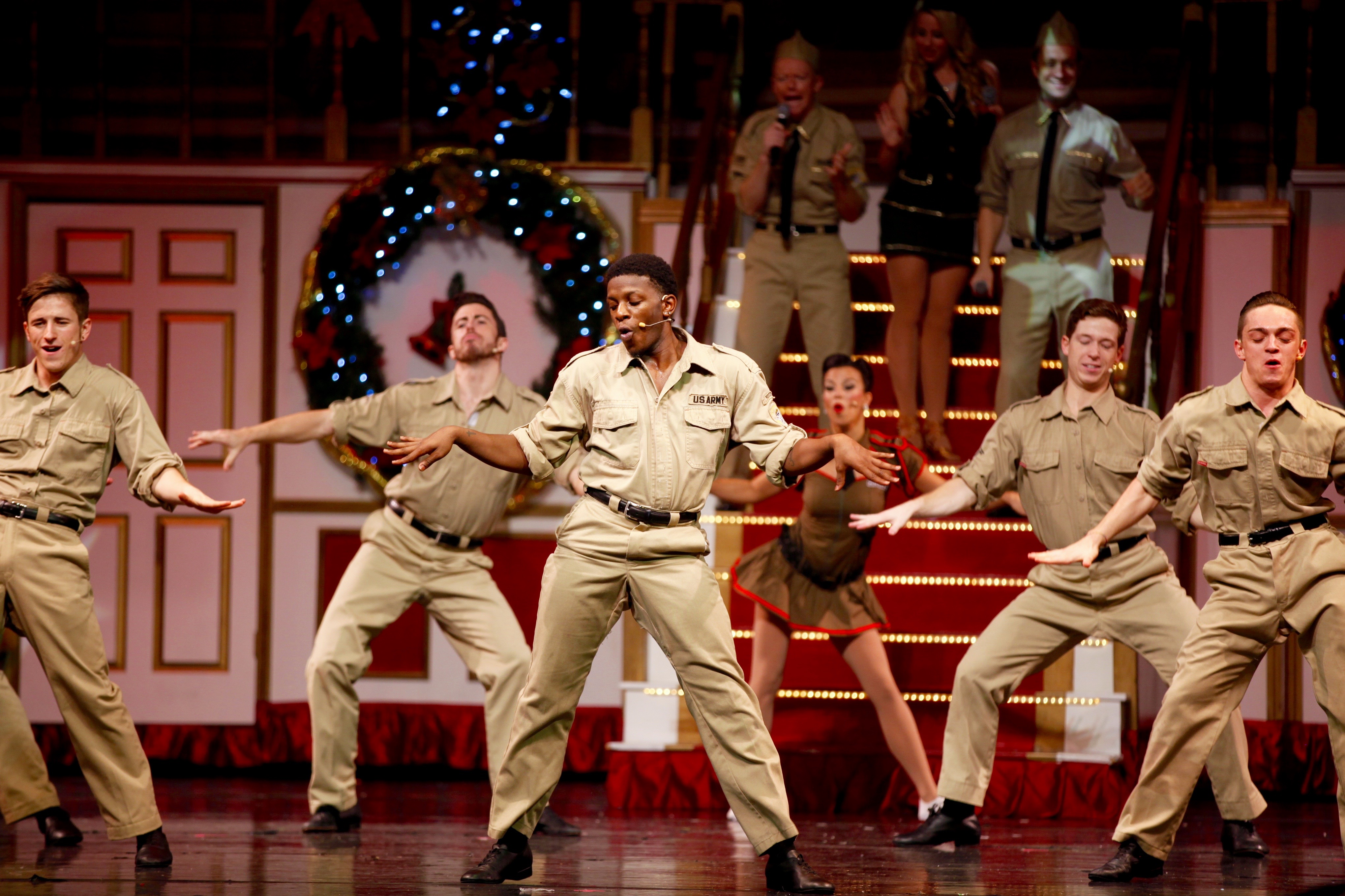 from singing to skating to the highest kicking chorus girls this side of the north pole broadway christmas wonderland is one show you wont want to miss - Christmas Broadway Shows