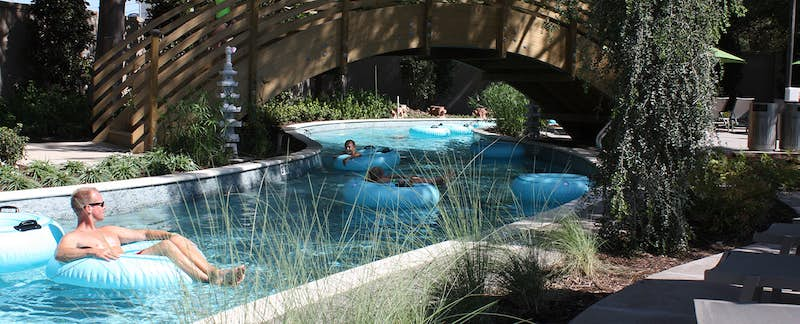 Jade Waters The Hilton Anatole Dallas Newest Water Park