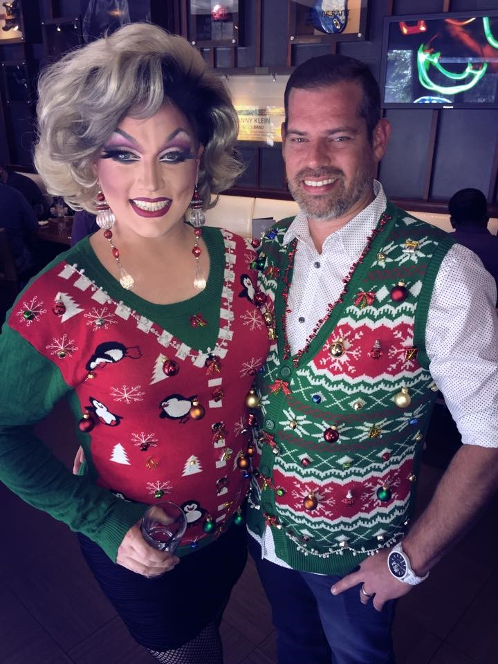 Drag Queen Christmas.The Holiday Season In Dallas Is A Real Drag In The Best