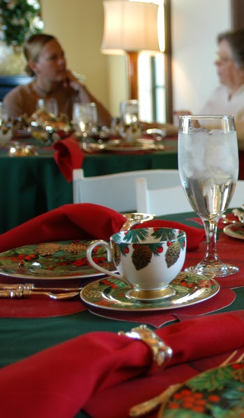 Holiday Tea at the DeGolyer Estate