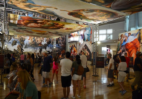 Michelangelo's Sistine Chapel: The Exhibition